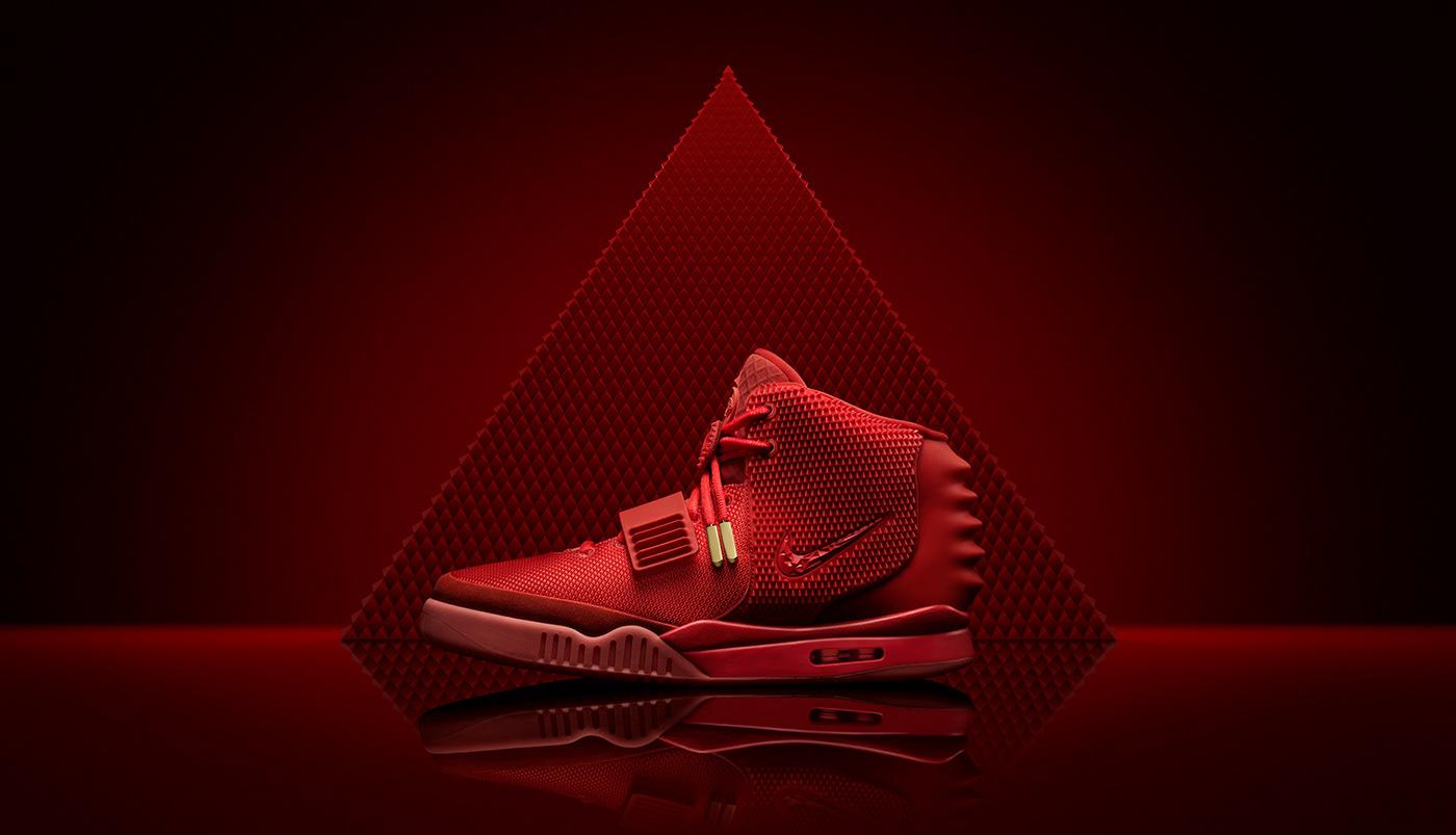 Nike - Yeezy II Red Octobers