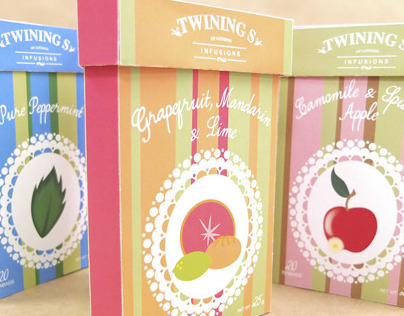 Twinings Tea package
