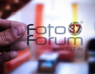 Logo & marketing products - Foto Forum 37