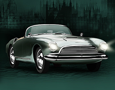 ASTON MARTIN – Digital Painting