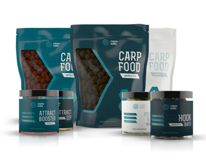 NANO BAITS - Branding & Packaging