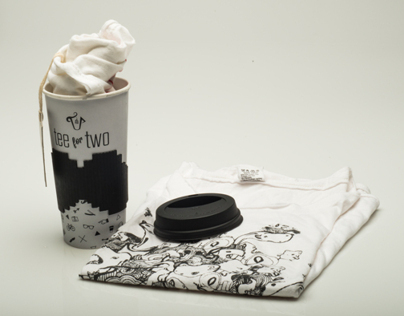 TEE FOR TWO : Tee shirt packaging