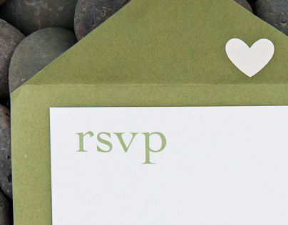 Wedding collateral materials