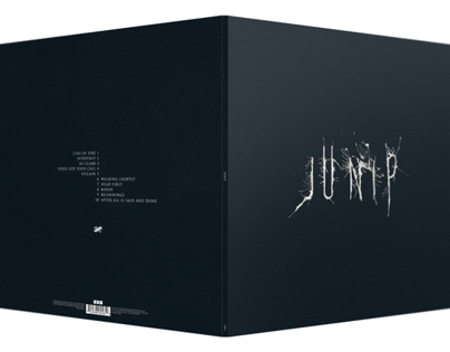 Junip vinyl LP packaging design