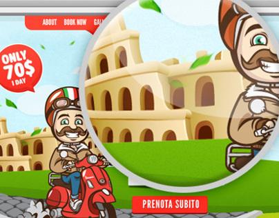 Vespa Rome Rental