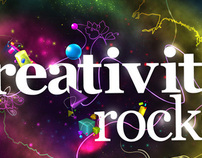 Creativity Rocks - by Vinicius Radziavicius