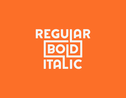 Regular Bold Italic - Font Collection 2013