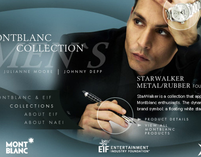 montblanc//entertainment industry foundation
