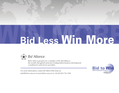 Bid To Win – Corporate Capabilities