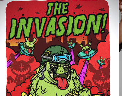 @VinylAttack The Invasion! x @simplevector