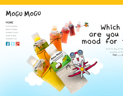 Mogu Mogu Website