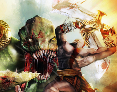 Fan art GoW ascension