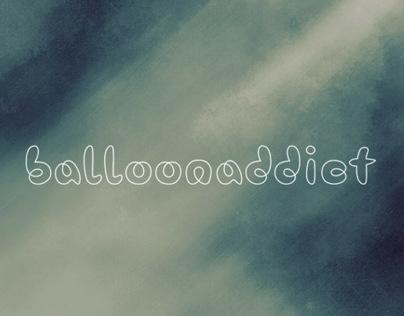 Balloonaddict typeface