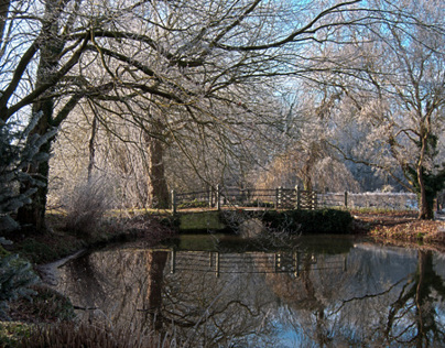 Winter at Anglesey Abbey