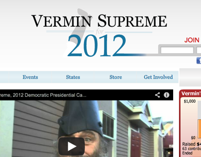 Vermin Supreme Website