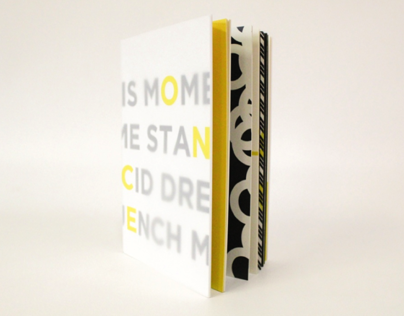 ONCE (Hand Bound Typography Book)