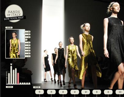 Run Your Way (social media marketing for fashion)