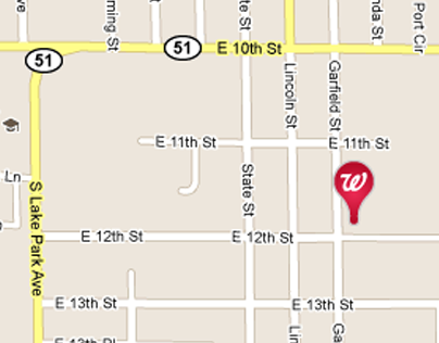 Walgreens Store Finder