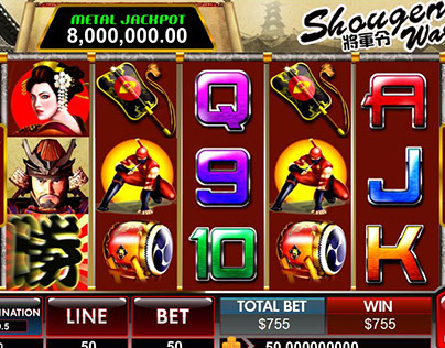 Shougen War(slot)  ©Spade Gaming