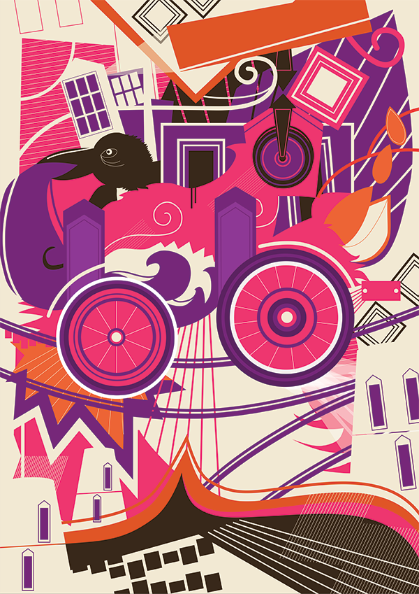 Various Rides - illustration