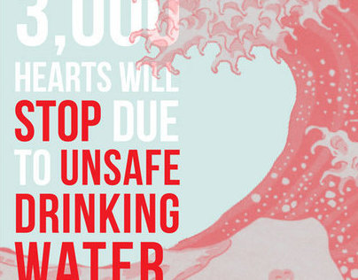 Water is Life Campaign | Typography | Poster Series