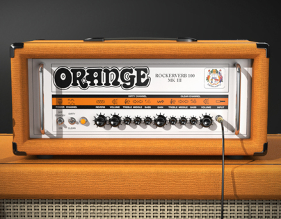 Epiphone X Orange