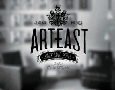 ART EAST - hotel visual identity