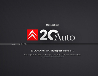 Citroën Hungary / web