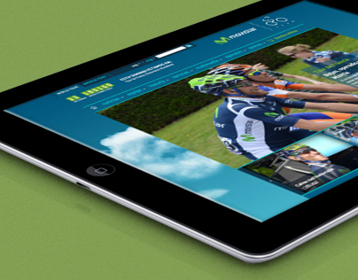 Movistar team website