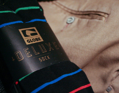 Globe | Deluxe Sock Packaging