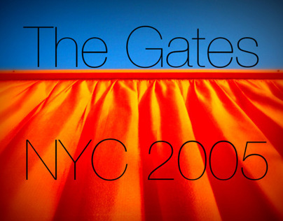 The Gates, Central Park, NYC 2005