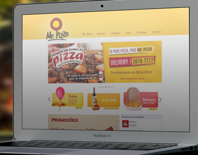 Mr Pizzo Website