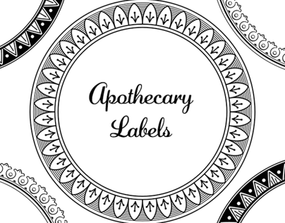 Free Apothecary Labels Kit
