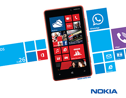 Nokia Lumia - PAS Awards - (Branding OOH & WEB)