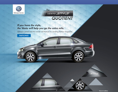 The Vento Style Quotient - Facebook App