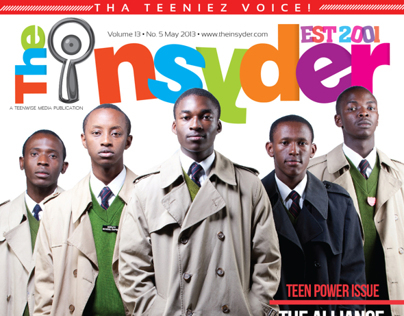 The Insyder Magazine New Look & Feel