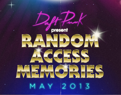 Daft Punk / Random Access Memories - poster contest