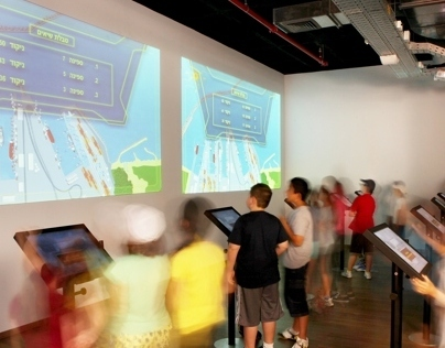 Ashdod Port - Visitors Center (Game Design)