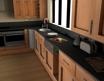 Kitchen 3D Modelling