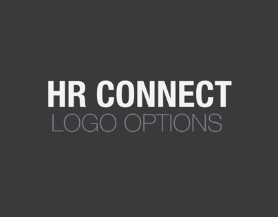 HR Connect Logo Options