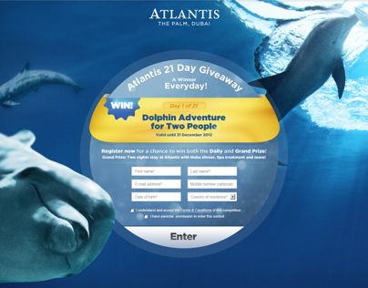 Atlantis 21 Day Competition
