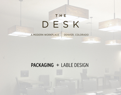The Desk  |   Packaging + Label Design