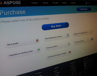 Aspose: Purchase System