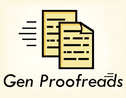 Gen Proofreads Logo