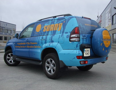 Sunny Jeep Design and Wrap