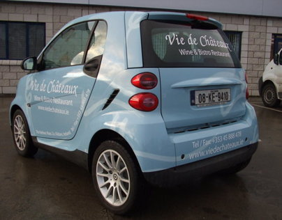 Vie Dechateaux Smart Car Design and Wrap