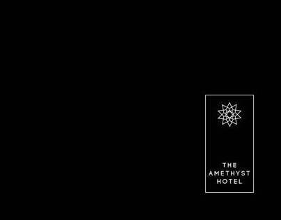 The Amethyst Hotel brand identity manual