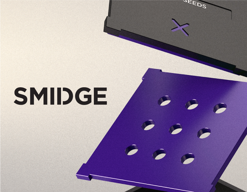 SMIDGE - Packaging