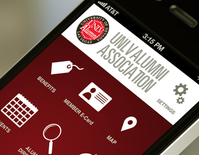 UNLV Alumni Association Mobile App