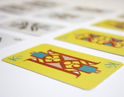Philosopher Typographic Playing Cards